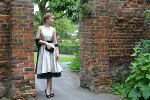 Demure and Elegant Prom Dress - One Night Stand Formal Wear