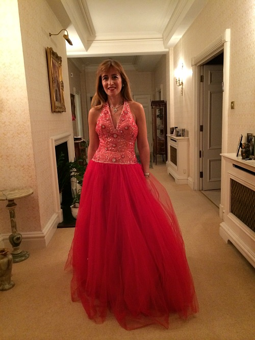 Very Full Ball Gown For Troxy Birthday Celebration